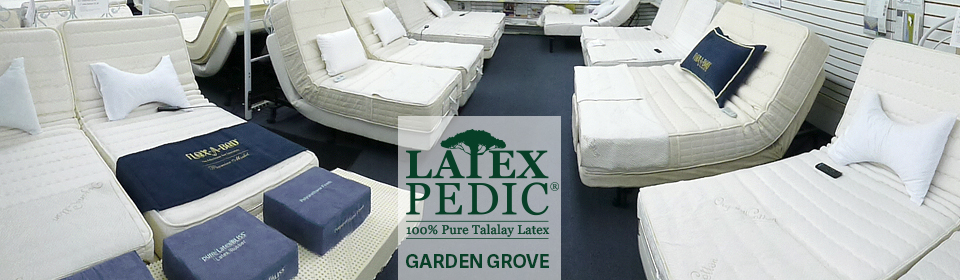 100% Pure Talalay Latex Mattress Orange,  Anaheim organic adjustable beds  Brea,  Buena Park,  Costa Mesa,  Cypress