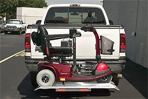 Double Entry Scooter Exterior Lift
