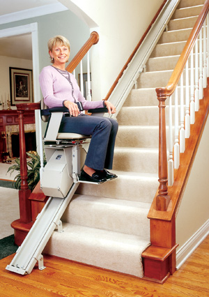 Brunos SRE-1550 Electra-Ride II Straight Rail Stairlift