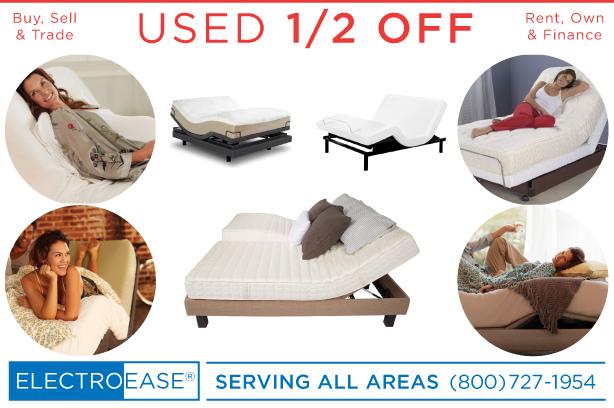 USED ADJUSTABLE BEDS 1/2 OFF PHOENIX CHEAP DISCOUNT ADJUSTABLEBEDS