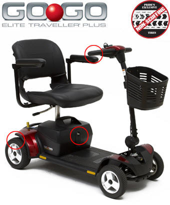 used 3-wheeled scooters