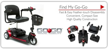 Description: Go-Go Travel Mobility - Find My Go-Go