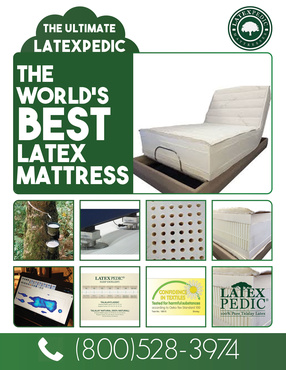 THE ULTIMATE ADJUSTABLE BED LATEX MATTRESES