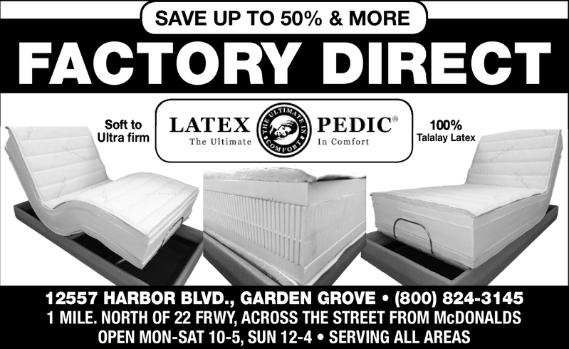 natural beds anaheim natural mattress santa ana latex foam costa mesa talalay mattresses