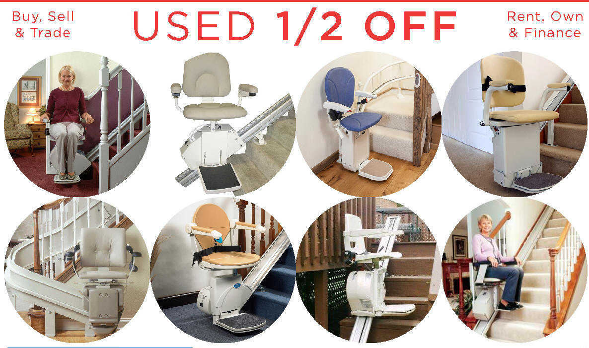 Best Rated Curve CRE-2110 Indoor and outtoor Exterior Stair Chairs