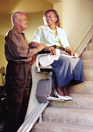 Stairlifts carried by Electro-Pedic