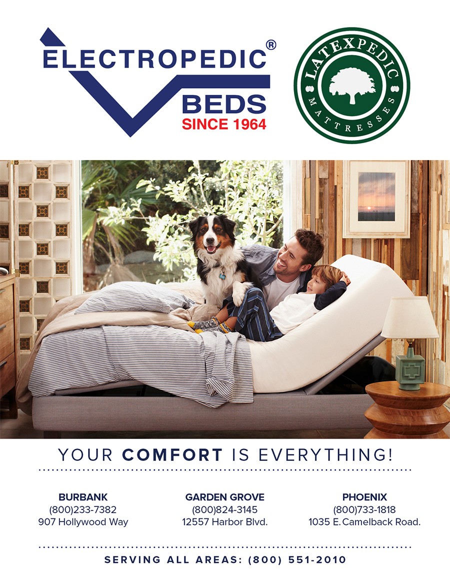 anaheim adjustable bed showrooms