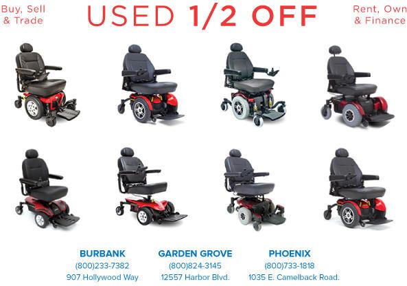Rent Phoenix Electric Motorized Power Wheelchair anaheim los