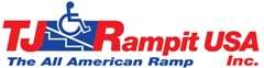 TJ Rampit USA Logo: Wheelchair Ramps