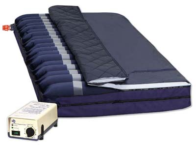Alternating Pressure Mattress with foam base Model 4300 amp; Rapid-AirAcirc; Plus Model 4300