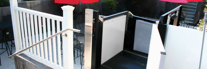 Commercial Vertical Platform Wheelchair Trus-T-Lifts